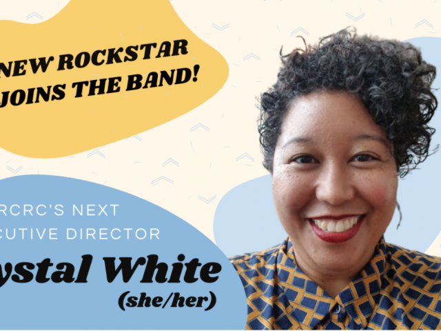Playing in a Key of Change: RCRC Welcomes Crystal White!